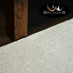 Hardwearing Soft Carpets And039discretionand039 Cream Very Thick Large Size Best-carpets