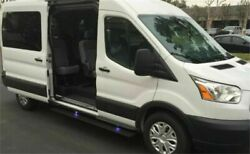 Amp Research Powerstep Electric Running Boards For 14-18 Ford Transit