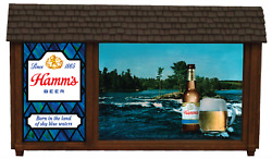Hamms Beer Non Motion Sign Parts - Hamms Non Motion Lighted Sign