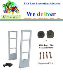 To Hawaii - Combo-m /1000 Tag / Pin + Tool + Eas Rf Security Antenna System