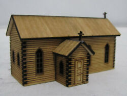 Trackside Models - N Scale - Laser Cut The Country Church - Sm044
