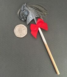 Ooak Dolls House Mustang Hobby Horse Hand Painted And Cut Miniatures Toy