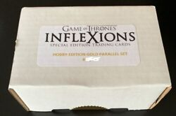 Rittenhouse Game Of Thrones Inflexions Hobby Gold Parallel Complete Set 3/40