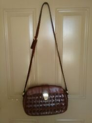 Etienne aigner genuine Leather crossbody handbags $32.00
