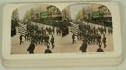Lot Of 23 Different Military Stereoviews Circa 1900