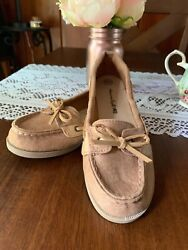 American Eagle Boat Shoes Girls 13 12