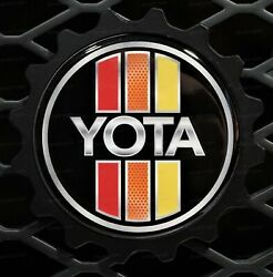 Grille Badge Emblem Compatible Withtoyota 4 Runner And Fj Cruiser Fits Trd And Teq