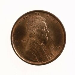 Raw 1909 Vdb Lincoln 1c Uncertified Ungraded Us Copper Small Cent Coin