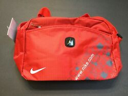NIKE Small Cross over Shoulder Bag Red Unisex New $20.99