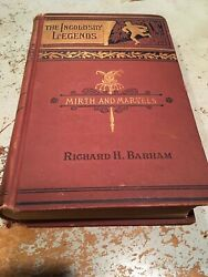 Antique Book The Ingoldsby Legends Mirth And Marvels