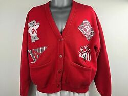 Collectable Alabama Crimson Tide Football Sweater Small 1 Jacket Bellepointe