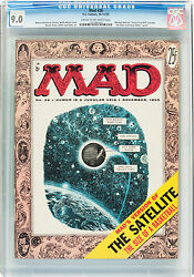 Mad 26 Ec, 1955 Cgc Vf/nm 9.0 Cream To Off-white Pages....