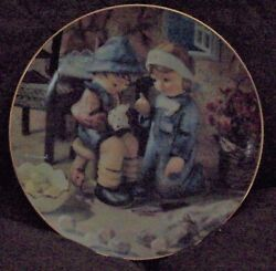 Hummel Little Companions Tender Loving Care Collectible Plate