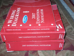 2007 FORD EXPEDITION LINCOLN NAVIGATOR TRUCK Shop Repair Service Manual SET