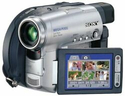 Sony Dcr-dvd201 2.5-inch Lcd Monitor Equipped With A Digital Video
