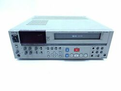 Sony Svo-5800 Svhs Business For Editing Deck Premium Vintage