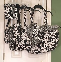 Great Vera Bradley Night And Day Large Duffel And Travel Tote Mini Laptop Bag Andpouch