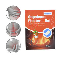 24Pcs/3Bags Capsicum Plaster Pain Patch Relieve Joint Neck Muscle   LY