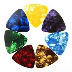 150x Guitar Picks Celluloid Thin Acoustic Electric Plectrums Assorted Color SK