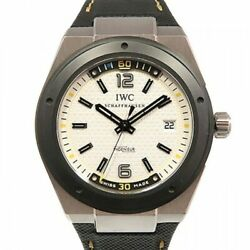 Free Shipping Pre-owned IWC Ingenieur Automatic Climate Action IW323402