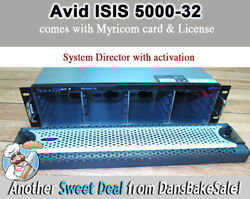 Avid Isis 5000-32 Empty Chassis With System Director And License Activation-tested