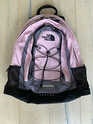 The North Face Jester Women's Backpack School Bag Hiking Pink  Black