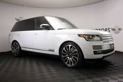 2016 Land Rover Range Rover Supercharged LWB Blind SpotRear DVDAC SeatsHUD 2016 Land Rover Range Rover Supercharged LWB Blind SpotRear DVDAC SeatsHUD