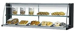 Turbo Air Tomd-40hw 39 L Non Refrigerator Display Top Case High 2 Tiers White
