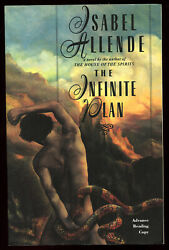 Isabel Allende / The Infinite Plan Signed Advance Reading Copy 1st 1993