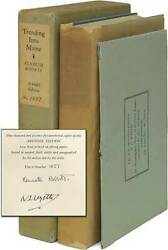 Kenneth Roberts N C Wyeth / Trending Into Maine Signed 1st Edition 1938