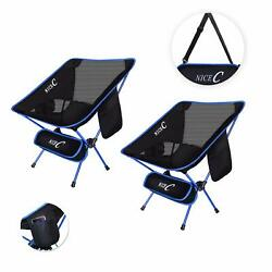 Nicec Ultralight Portable Folding Camping Backpacking Chair Compact  Heavy Duty