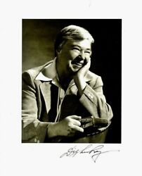 Washington Governor Dixie Lee Ray Signed Photo And Signed Letter