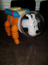 Extremely Rare Tintin Snowy On The Moon Astronaut Figurine Le Of 50 Statue