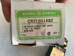 One 1 General Electric Ge Cr215g1a82 Top Plunger Limit Switch 600 Vac Max, Nos