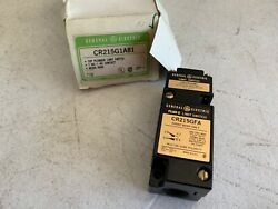 One 1 General Electric Cr215g1a81 Top Plunger Limit Switch 600 Vac Max, Nos