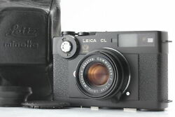 [mint] Leica Cl 50 Years + Summicron C 40mm F/2 From Japan 2198