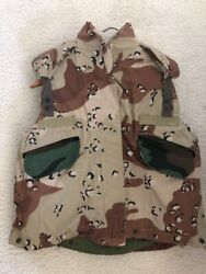 6 Color Desert Camo Pasgt Vest Cover X-small/small Cover Only