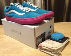 Golf Wang Syndicate Old Skool Blue /pink Authentic - Size 9