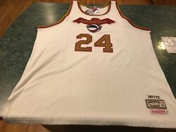 Vintage Mike Lewis Pittsburgh Condors Aba Basketball Mitchell And Ness Jersey 3xl