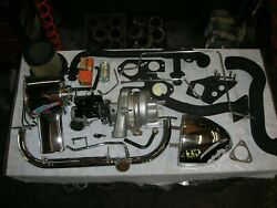Corvair 1966 Turbo Kit Very Complete All New Chrome Turbo And Carb Fully Rebuilt