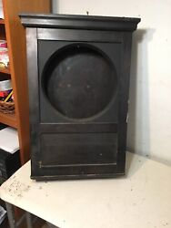 Antique Stromberg Electric Co Master Clock Case Short Style