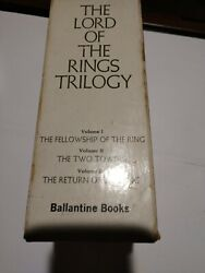 Special Edition First Pressing 1980 J.r.r. Tolkien The Lord Of The Rings...