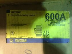 Square D H226nr 600a Single Throw Fusible Safety Switch