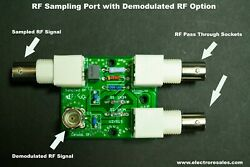 Rf Sampler Modulation Monitor With Demodulation Port - Monitor Your Signal Fully