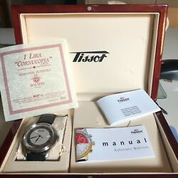Large Vintage Tissot Menandrsquos Watch In Perfect Condition