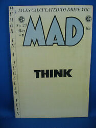 Mad 23 Vf Pogo Last Comic Size Issue Grab A Piece Of History 1955