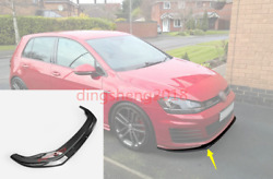 Carbon Front Bumper Lower Guard Cover For Volkswagen Golf 7 Gti Type A 2012-2015