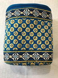 Vera Bradley Thermal Insulated Lunch Bag Can Cooler Baby Bottle Holder Blu