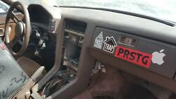 84 Mazda Rx7 Dash Panel Brown Bare No Cluster No Other Parts