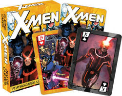 Uncanny X-men Comic Art Illustrated Poker Playing Cards Series 3 Deck New Sealed
